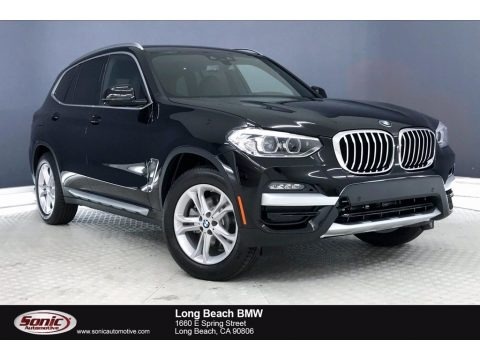 Jet Black 2020 BMW X3 sDrive30i