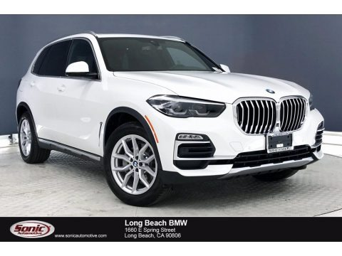 Alpine White 2020 BMW X5 xDrive40i