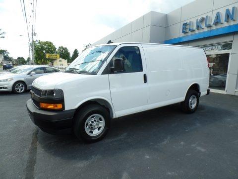 Summit White 2020 Chevrolet Express 2500 Cargo WT