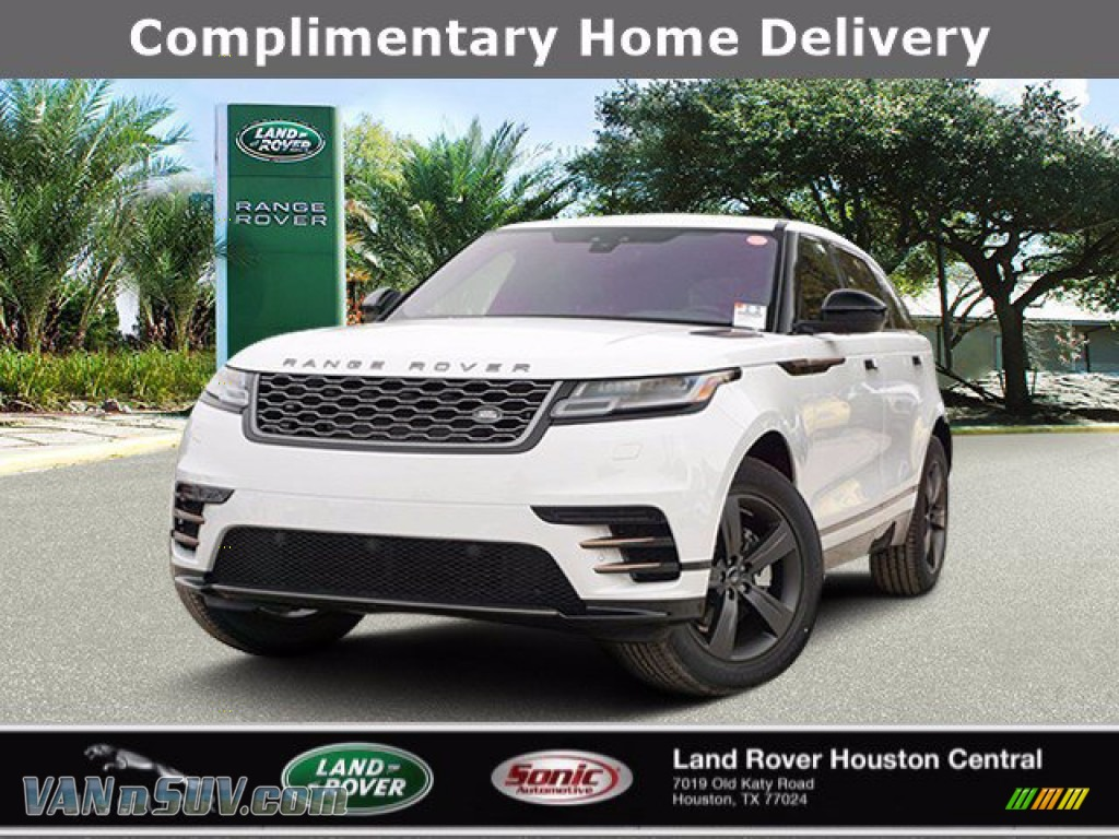 2020 Range Rover Velar R-Dynamic S - Fuji White / Ebony/Ebony photo #1