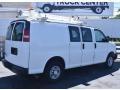 Chevrolet Express 2500 Work Van Summit White photo #2