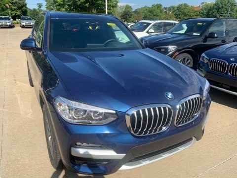 Phytonic Blue Metallic 2020 BMW X3 xDrive30i