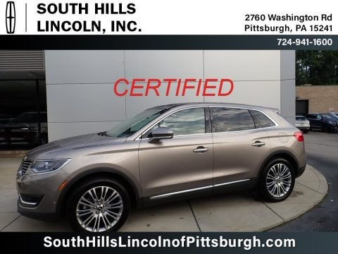 Iced Mocha Metallic 2018 Lincoln MKX Reserve AWD