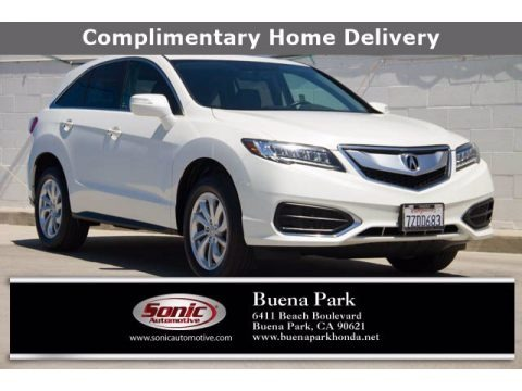 White Diamond Pearl 2017 Acura RDX AWD
