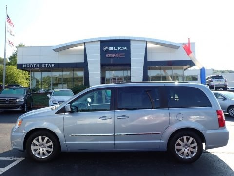 Crystal Blue Pearl 2013 Chrysler Town & Country Touring