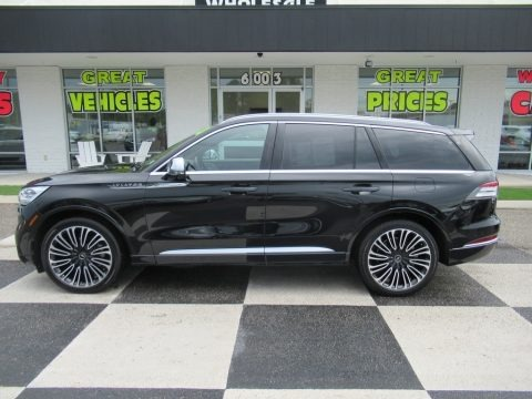 Infinite Black 2020 Lincoln Aviator Black Label AWD