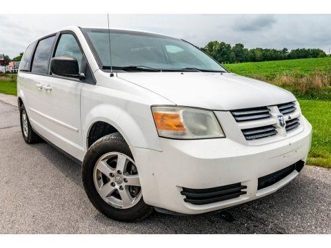 Stone White 2009 Dodge Grand Caravan SE