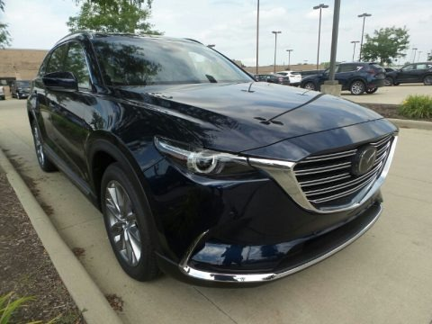 Deep Crystal Blue Mica 2020 Mazda CX-9 Grand Touring AWD