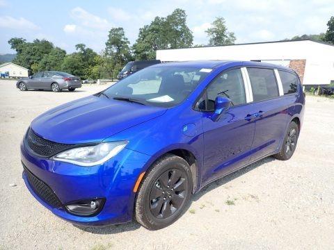 Ocean Blue Metallic 2020 Chrysler Pacifica Hybrid Touring