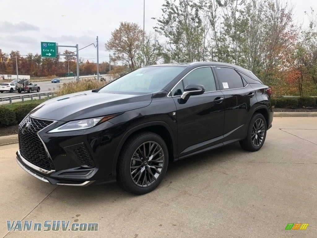2020 RX 350 F Sport AWD - Caviar / Birch photo #1