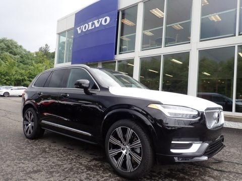Onyx Black Metallic 2021 Volvo XC90 T6 AWD Inscription