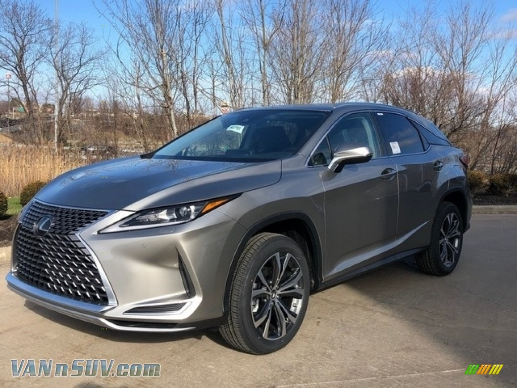Atomic Silver / Black Lexus RX 350 AWD