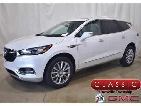 White Frost Tricoat 2020 Buick Enclave Premium AWD