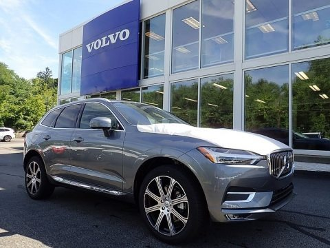 Osmium Grey Metallic 2021 Volvo XC60 T5 AWD Inscription