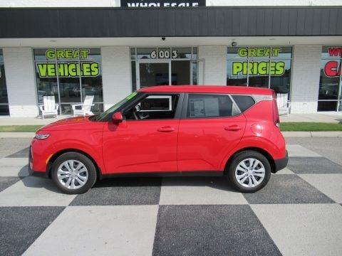 Inferno Red 2020 Kia Soul LX
