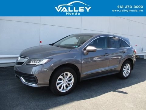 Modern Steel Metallic 2017 Acura RDX Technology AWD