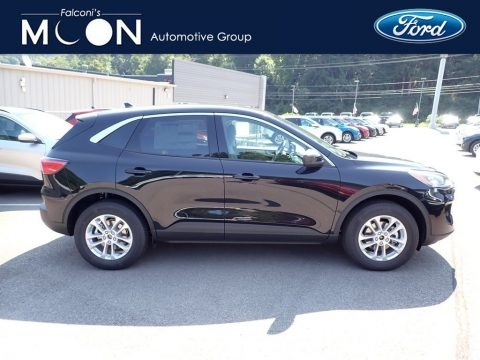 Agate Black Metallic 2020 Ford Escape SE