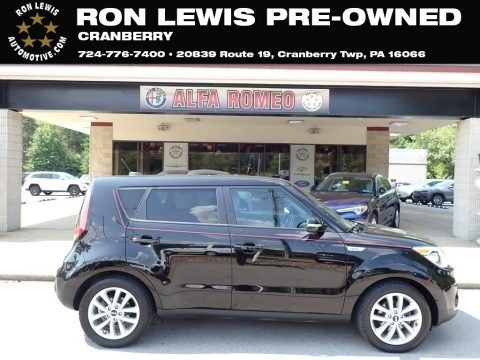 Shadow Black 2017 Kia Soul +