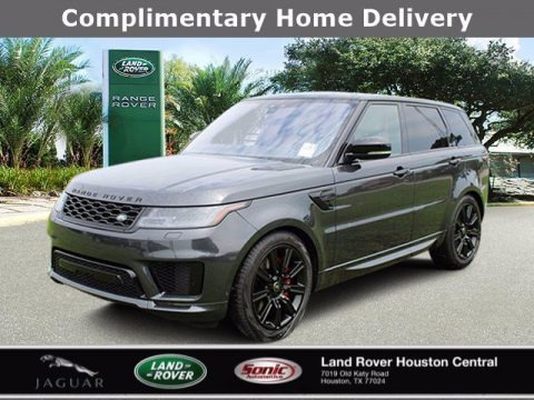 Carpathian Gray Premium Metallic 2020 Land Rover Range Rover Sport HST