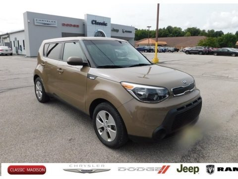 Latte Brown 2014 Kia Soul 1.6