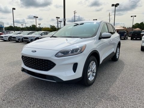 Oxford White 2020 Ford Escape SE