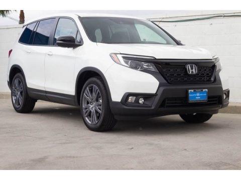 Platinum White Pearl 2020 Honda Passport EX-L AWD