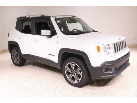 Alpine White 2016 Jeep Renegade Limited 4x4