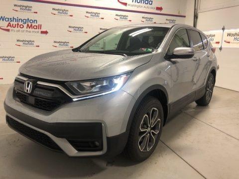 Lunar Silver Metallic 2020 Honda CR-V EX AWD