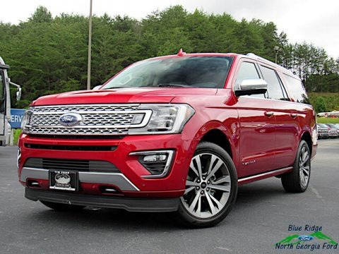 Rapid Red 2020 Ford Expedition Platinum 4x4