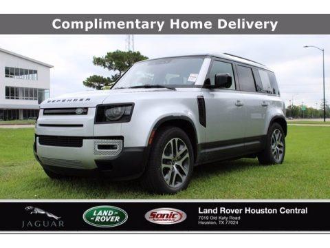 Indus Silver Metallic 2020 Land Rover Defender 110 SE