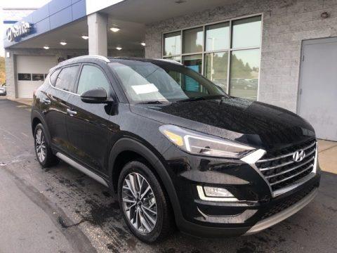 Black Noir Pearl 2021 Hyundai Tucson Limited AWD