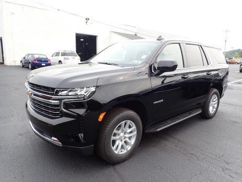 Black 2021 Chevrolet Tahoe LT 4WD