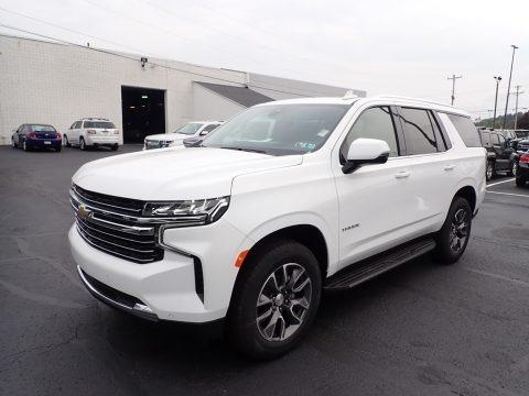 Summit White 2021 Chevrolet Tahoe LT 4WD
