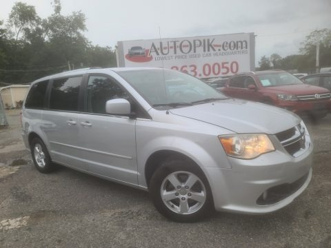 Bright Silver Metallic 2011 Dodge Grand Caravan Crew