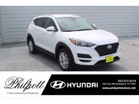 Winter White 2021 Hyundai Tucson Value