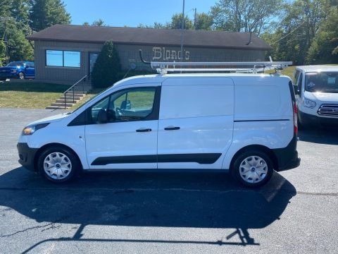 Frozen White 2017 Ford Transit Connect XL Van