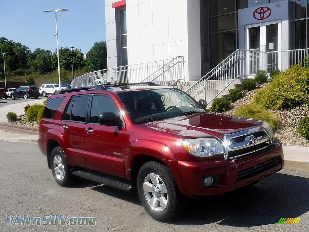 2008 Toyota 4runner Sr5 4x4 In Salsa Red Pearl For Sale 004621 Vannsuv Com Vans And Suvs For Sale In The Us