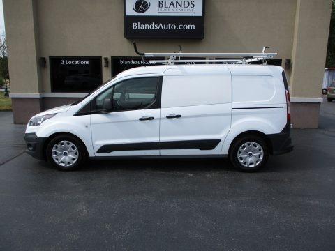 Frozen White 2017 Ford Transit Connect XL Van
