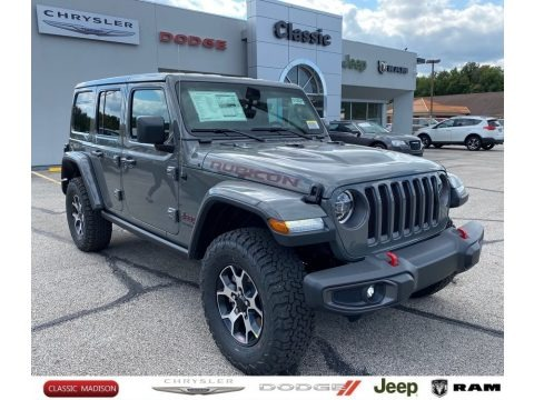 Sting-Gray 2021 Jeep Wrangler Unlimited Rubicon 4x4