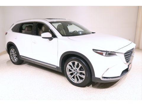 Snowflake White Pearl Mica 2017 Mazda CX-9 Grand Touring AWD