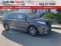 Toyota Sienna XLE Predawn Gray Mica photo #1