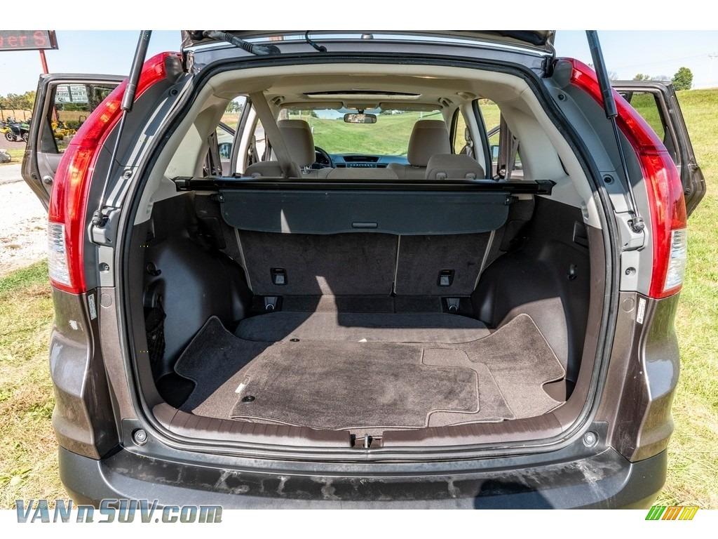 2013 CR-V EX AWD - Urban Titanium Metallic / Beige photo #23