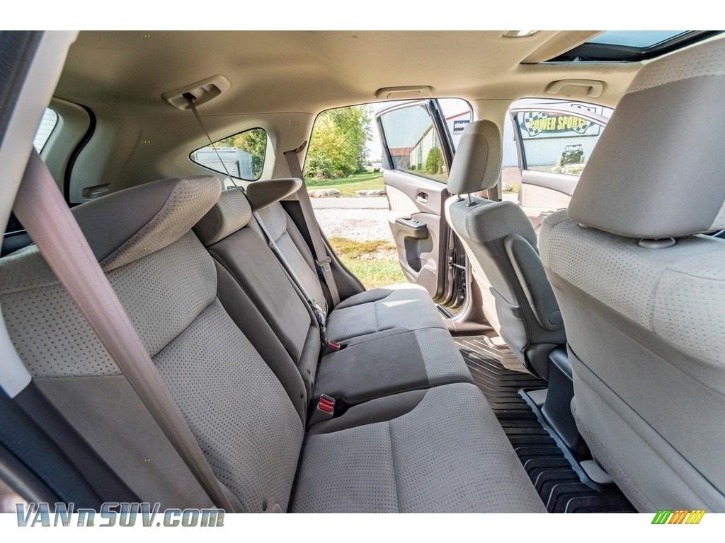 2013 CR-V EX AWD - Urban Titanium Metallic / Beige photo #25