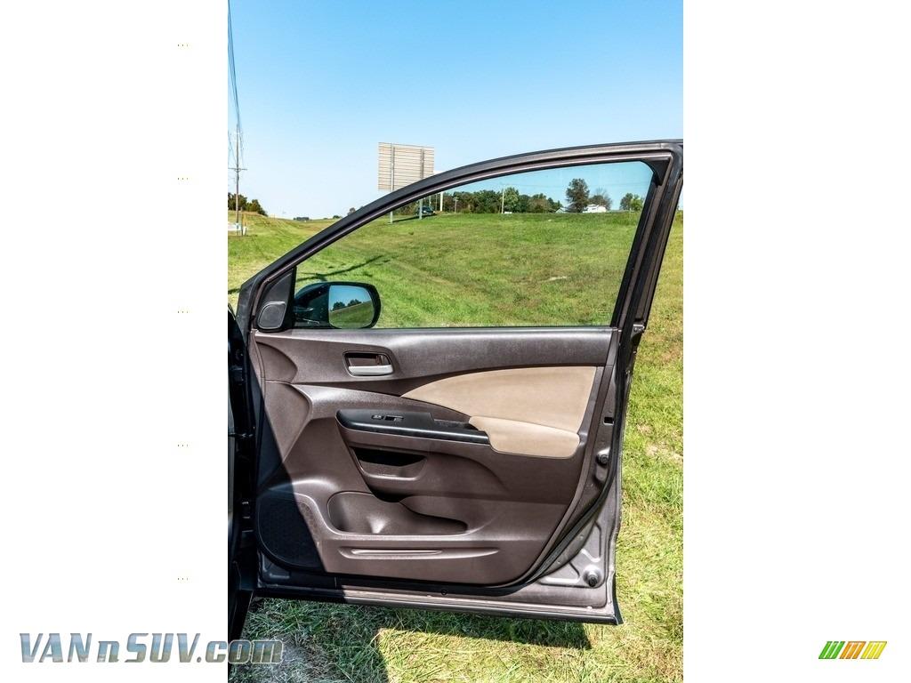 2013 CR-V EX AWD - Urban Titanium Metallic / Beige photo #27