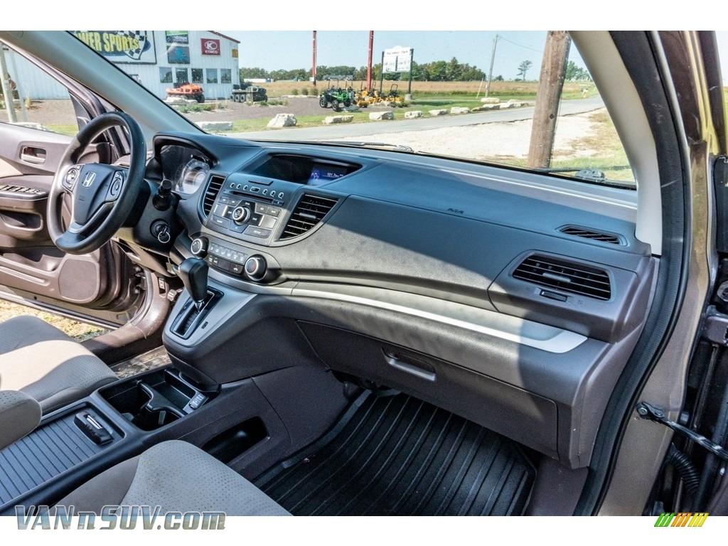2013 CR-V EX AWD - Urban Titanium Metallic / Beige photo #28