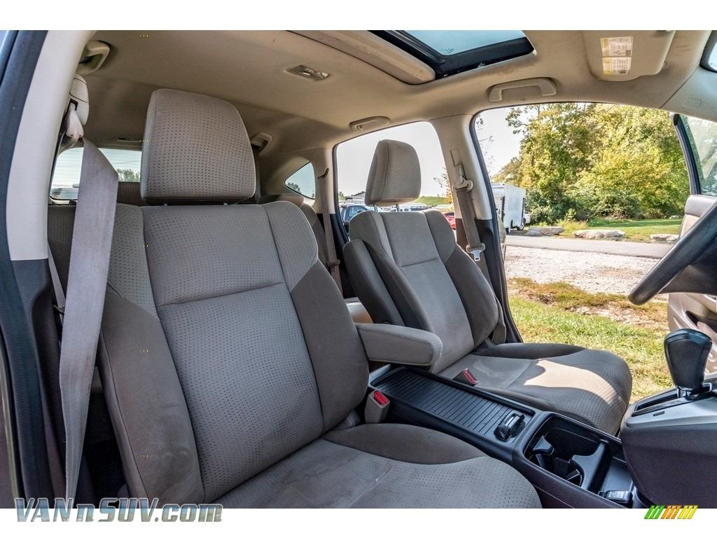 2013 CR-V EX AWD - Urban Titanium Metallic / Beige photo #30