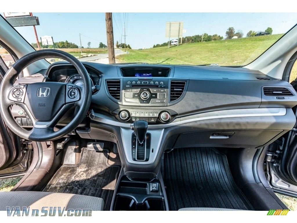 2013 CR-V EX AWD - Urban Titanium Metallic / Beige photo #31