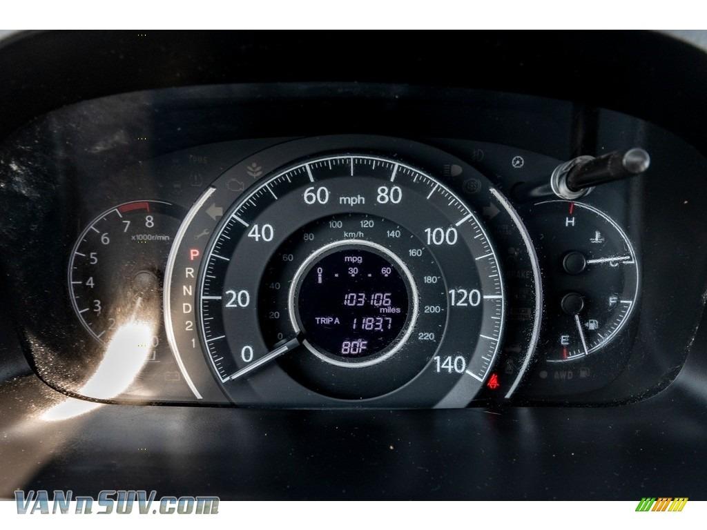 2013 CR-V EX AWD - Urban Titanium Metallic / Beige photo #36
