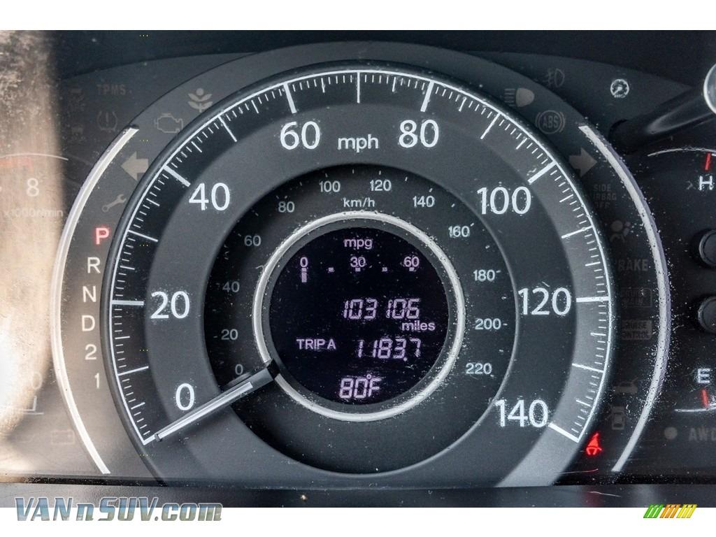 2013 CR-V EX AWD - Urban Titanium Metallic / Beige photo #37