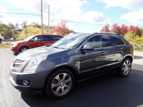 Black Ice Metallic 2012 Cadillac SRX Performance AWD